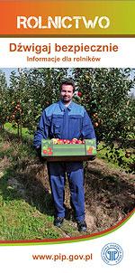 Dźwigaj bezpiecznie Informator dla rolników