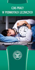 czas pracy w podmiotach leczniczych