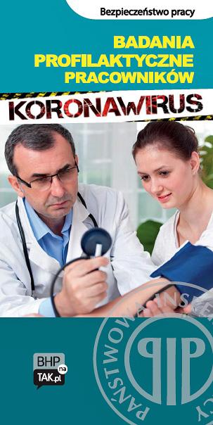 Badania profilaktyczne pracowników - koronawirus