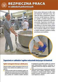 Bezpieczna praca w zakładach piekarniczych