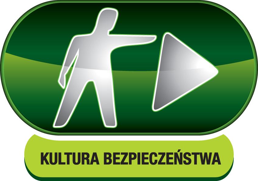 grafika logo kultura bezpieczeństwa